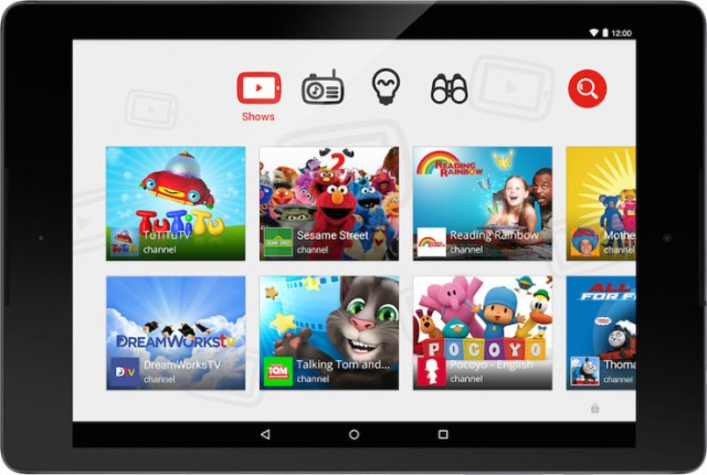 Google lanceert 'YouTube Kids'
